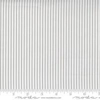Moda Fabric - Christmas Morning - Lella Boutique - Yuletide Stripe Dove #5148 14