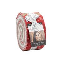 Moda Fabric Precuts Jelly Roll - Christmas Morning by Lella Boutique