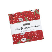 Moda Fabric Precuts Charm Pack - Christmas Morning by Lella Boutique