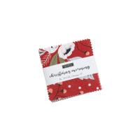 Moda Fabric Precuts - Mini Charm - Christmas Morning by Lella Boutique