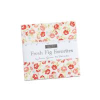Moda Fabric Precuts Charm Pack - Fresh Fig Favorites by Fig Tree & Co