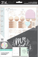 The Happy Planner - Me and My Big Ideas - Classic Accessory Pack - Wedding