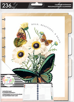 The Happy Planner - Me and My Big Ideas - Classic Extension Pack - Papillon Butterfly (Undated, Daily)