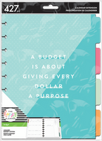 The Happy Planner - Me and My Big Ideas - Classic Extension Pack - Bright  (Undated, Budget)