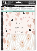 The Happy Planner - Me and My Big Ideas - Neutral Leopard Planner Companion - Classic