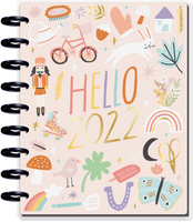 The Happy Planner - Me and My Big Ideas - Classic Happy Planner - 2022 Happy Seasons - 12 Months (Dated, Colorblock)