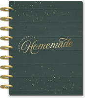 The Happy Planner - Me and My Big Ideas - Classic Happy Planner - 2022 Happiness is Homemade - 12 Months (Dated, Meal Planning)