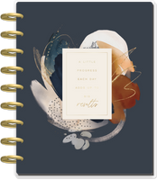 The Happy Planner - Me and My Big Ideas - Classic Recovery Guided Journal - Abstract Watercolor