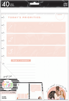 The Happy Planner - Me and My Big Ideas - Big Filler Paper - x Spoonful of Faith Amazing Things (Checklist, Dot Grid, Lined)