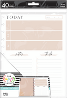 The Happy Planner - Me and My Big Ideas - Big Filler Paper - To-Do Neutral (Checklist, Lined)