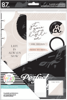 The Happy Planner - Me and My Big Ideas - Classic Accessory Pack - Black and White