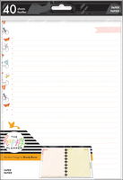 The Happy Planner - Me and My Big Ideas - Classic Filler Paper - x Marabou Design Life is Sweet (Checklist, Dot Lined)