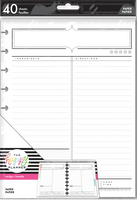 The Happy Planner - Me and My Big Ideas - Classic Filler Paper - Recipe