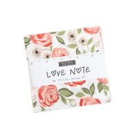 Moda Fabric Precuts Charm Pack - Love Note by Lella Boutique