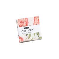 Moda Fabric Precuts - Mini Charm Pack - Love Note by Lella Boutique