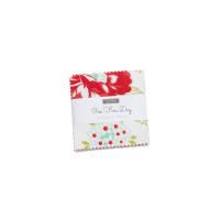 Moda Fabric Precuts - Mini Charm Pack - One Fine Day by Bonnie & Camille