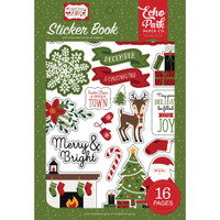Echo Park Sticker Book - Christmas Magic