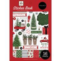 Carta Bella Sticker Book - Home For Christmas