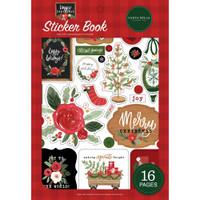 Carta Bella Sticker Book - Happy Christmas