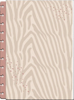 The Happy Planner - Me and My Big Ideas - Neutral Zebra Big Snap-In Pen Pouch