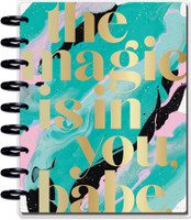 ***IMPERFECT*** The Happy Planner - Me and My Big Ideas - Classic Happy Planner - Glitter Paint - 18 Months (Dated, Hourly)