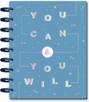 ***IMPERFECT*** The Happy Planner - Me and My Big Ideas - Classic Happy Planner - You Can Fitness - 12 Months (Undated, Vertical - Fitness)