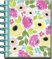 ***IMPERFECT*** The Happy Planner - Me and My Big Ideas - 2021-2022 Colorful Florals Classic Happy Planner - 18 Months (Dated, Vertical)