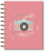 ***IMPERFECT*** The Happy Planner - Me and My Big Ideas - DELUXE Happy Memory Keeping Planner - Big - Painted Memories (Undated)