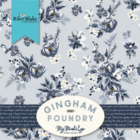 Riley Blake Fabric - Gingham Foundry by My Minds Eye - Jelly Roll