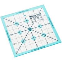 "Riley Blake Designs - Lori Holt of Bee in My Bonnet - Trim It Square Ruler 4.5"""