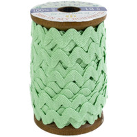 Riley Blake Designs - Lori Holt of Bee in my Bonnet - Large Vintage Trim - Sweet Mint - 3/8 inch (8mm) x 12 Yards