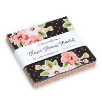 Moda Fabric Precuts Charm Pack - Olive's Flower Market by Lella Boutique