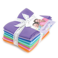 Moda Fabric Precuts - Fat Quarter Bundle - Designer Select Bella Colours - Me My Sister