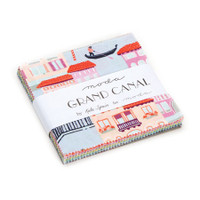 Moda Fabric Precuts Charm Pack - Grand Canal by Kate Spain