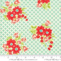 Moda Fabric - Handmade - Bonnie & Camille - Aqua #55146-12