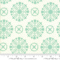 Moda Fabric - Handmade - Bonnie & Camille - Aqua Cream #55141-12