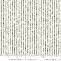 Moda Fabric - Handmade - Bonnie & Camille - Black Cream #55147-17