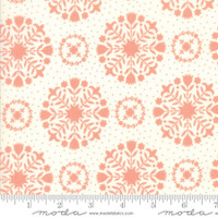 Moda Fabric - Handmade - Bonnie & Camille - Coral Cream #55141-13