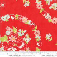 Moda Fabric - Handmade - Bonnie & Camille - Red #55140-11