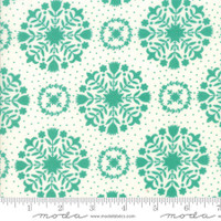 Moda Fabric - Handmade - Bonnie & Camille - Teal Green #55141-15
