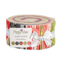 Moda Fabric Precuts Jelly Roll - Poppy Mae by Robin Pickens