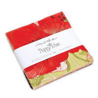 Moda Fabric Precuts Charm Pack - Poppy Mae by Robin Pickens