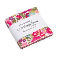 Moda Fabric Precuts Charm Pack - Regent Streets Lawn 2016