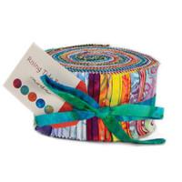Moda Fabric Precuts Jelly Roll - Rising Tides Batiks