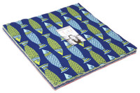 Moda Fabric Precuts Layer Cake - Tide Pool by Kate Nelligan