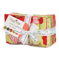 Moda Fabric Precuts Fat Eighth Bundle - Poppy Mae by Robin Pickens