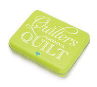 Moda Notions - Quilter's Gonna Quilt Quote Tin