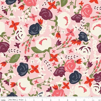 Riley Blake Fabric - Posy Garden - Carina Gardner - Pink #C5420