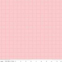 Riley Blake Fabric - Posy Garden - Carina Gardner - Pink #C5423
