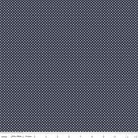 Riley Blake Fabric - Posy Garden - Carina Gardner - Navy #C5425